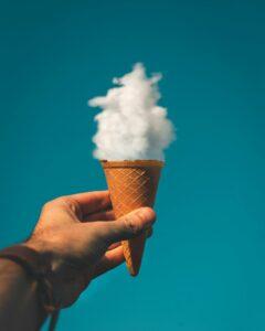 ice cream cloud